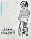 Treo Girdle Ad, May 1925 (Click to Enlarge)