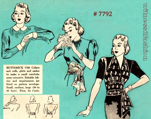 Butterick Fashion News, April 1938
