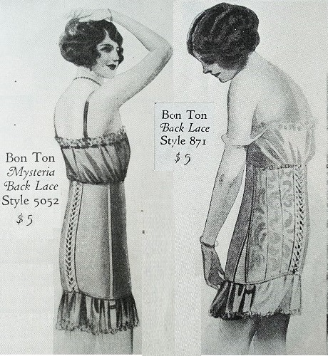 500 bonton corset ad april 1925 wide