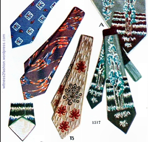 Necktie pattern #1517, November 1950.