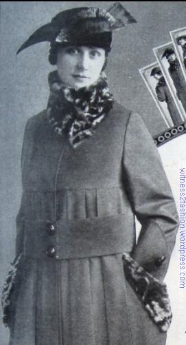 Printzess coat No. 521, 1917.
