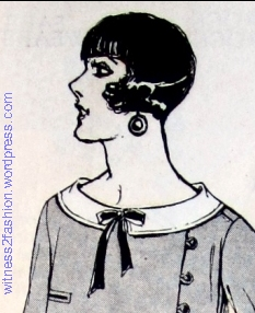 A Shingle Hair Cut, April 1924. Delineator.